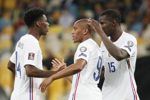 "'France' form stiff! Chase ""Ukraine"" 1-1 World Cup qualifiers"