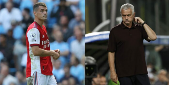 Mourinho warns Xhaka should be vaccinated